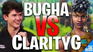 SEN Bugha 1 VS 1 RS ClarityG | Fortnite Creative 1v1 *RS VS SEN*