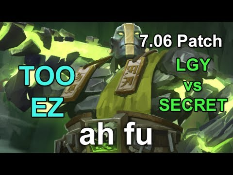ah fu Earth Spirit  LFY vs Secret @ Epicenter 2017  7.06 Full Game