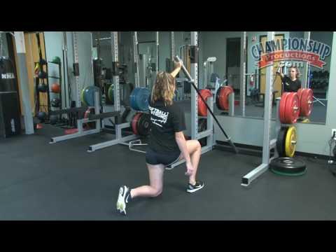 Plyometric Exercises and Weight Training for Softball - Kris
