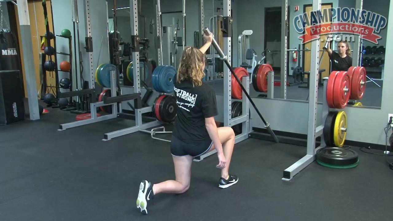 Plyometric Exercises and Weight Training for Softball - Kris Massaro