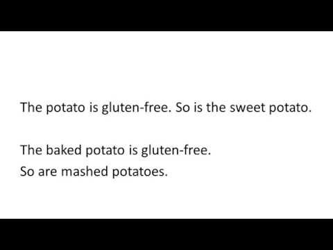 Are Potatoes Gluten-Free