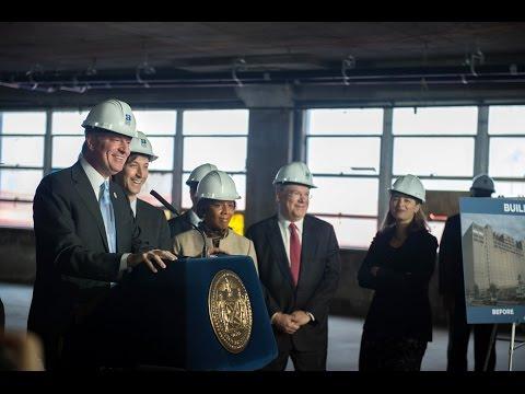 Mayor de Blasio Launches Major Manufacturing Expansion