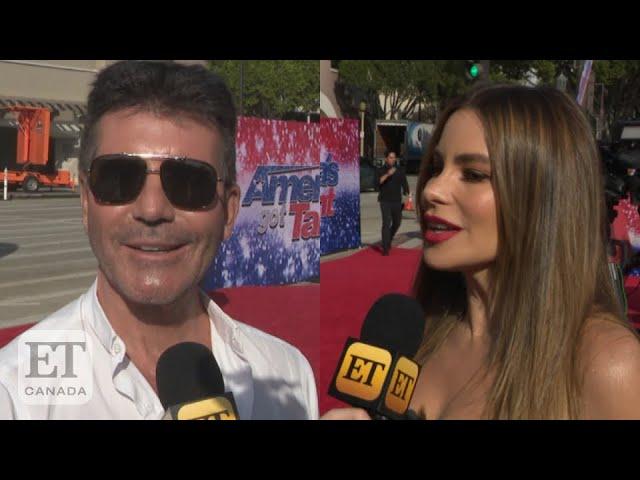 Sofia Vergara Joins 'AGT', Simon Cowell, Heidi Klum React