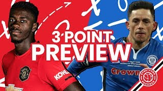 Manchester United vs Rochdale AFC | 3 Point Preview