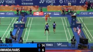 R16 - WD - WANG X.L. / YU Y. vs A.S.AWANDA / D.D.HARIS - 2014 Chinese Taipei Open