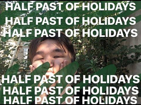 как я провел половину летних каникул