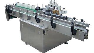 Cold Glue Labeling Machine For Plastic Bottle Paste Label Applicator/labeler Manuafacturer