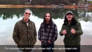 "Agent Cooper / Tony MacAlpine ""Dream Mechanism Tour - Europe 2012"""
