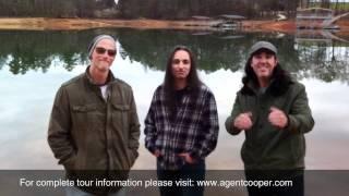 "Agent Cooper / Tony MacAlpine ""Dream Mechanism Tour - Europe 2012"""