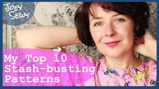 My Top 10 Stash-busting Patterns | and even more bonus ideas