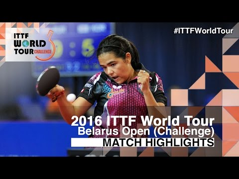 2016 Belarus Open Highlights: Adriana Diaz vs Maki Shiomi (U21-1/4)