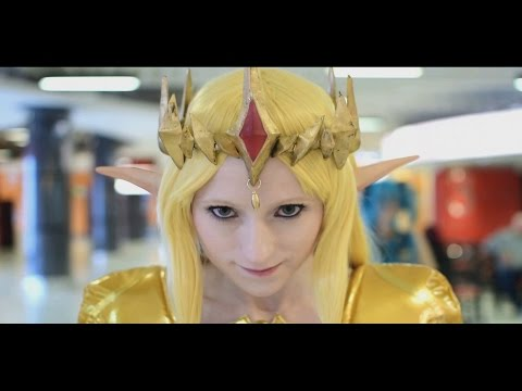 MCM Comic Con Birmingham 2015 Epic Cosplay Music Video (1080p 60fps)