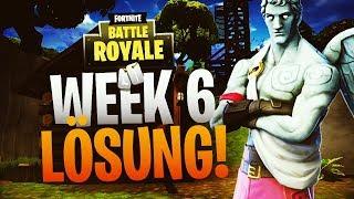 PUZZLE WEEK 6! BATTLE PASS WEEK 6! Solution! FORTNITE! GERMAN!