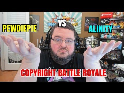 Pewdiepie Vs Alinity - Copy Strike Battle Royale!