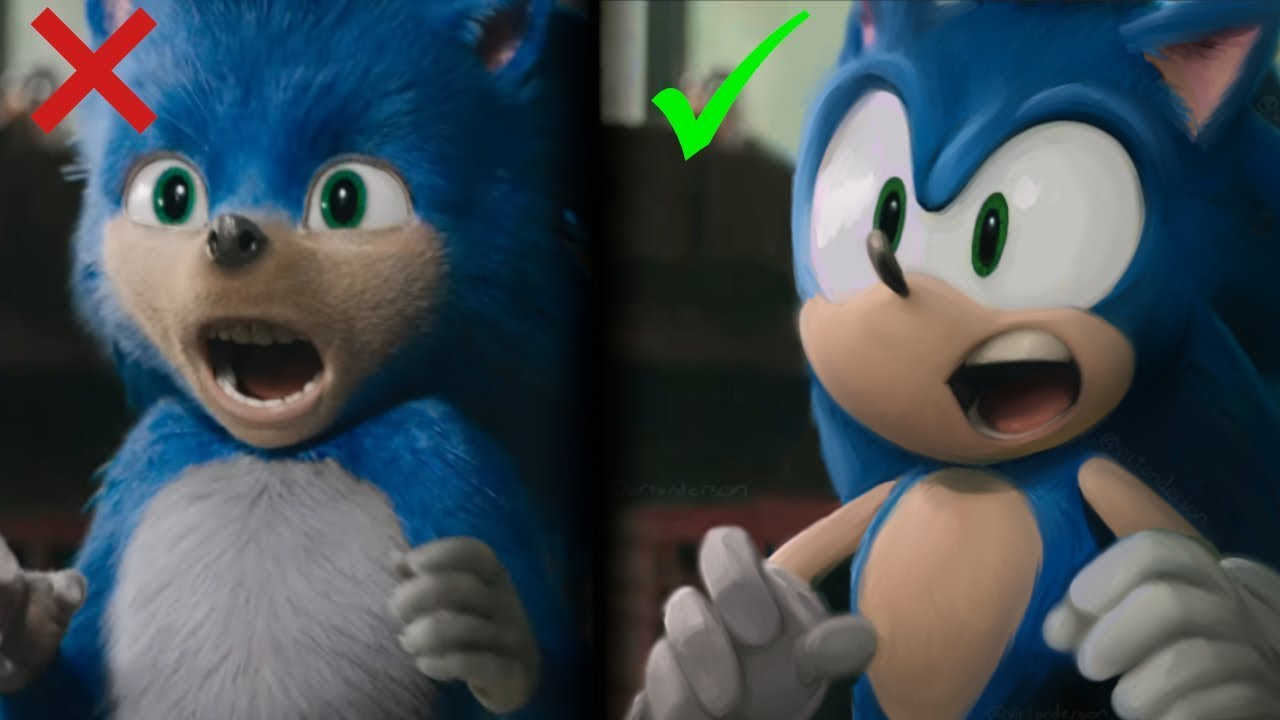 We Did It Sonic Will Be Fixed And Redesigned Sonic The Hedgehog Movie By Paramount Youtube