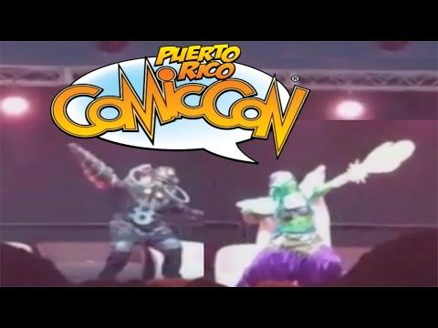 Puerto Rico Comic Con 2016 - Cosplay Parade