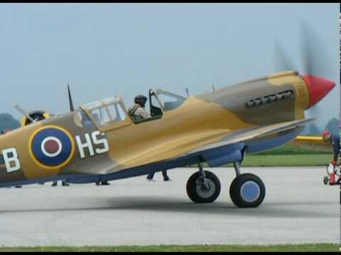 Vintage Wings of Canada P-40N-1 .avi
