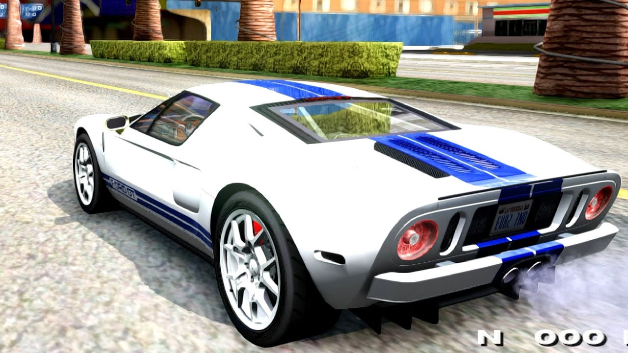 Ford Gt Gta San Andreas