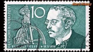 видео История изобретения дизельного двигателя