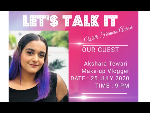 MAKEUP VLOGGER AKSHARA TALKS ABOUT HER EASY MAKEUP TRICKS ! | AKSHARA TEWARI | make-up vlogger