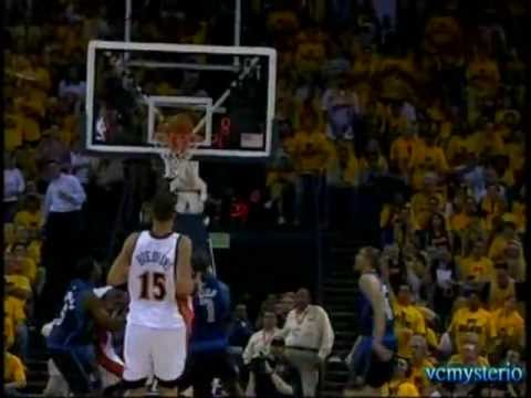 Baron Davis 24pts & J-Rich 30pts vs. Mavericks Game3 2007 Playoffs