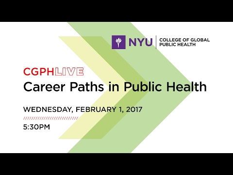 Career Paths in Public Health