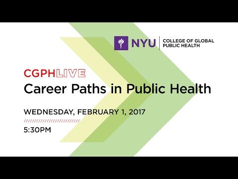 Career Paths in Public Health