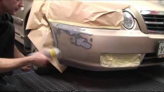Покраска бампера с помощью аэрозолей(Учебный ролик о покраске бампера с помощью аэрозольной краски., 2011-07-28T10:29:51.000Z)