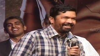 Posani Krishna Murali & Allu Arjun comedy on stage @ Race Gurram Success Meet