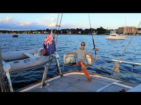 Sailing Bristol - Sailing Rhode Island - HR54 Cloudy Bay, Sep 2018