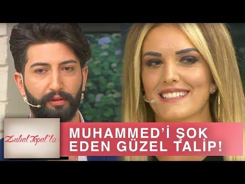 Zuhal Topal'la 200. Bölüm (HD) | Muhammed Güzeller Güzeli Talibini Görünce Öyle Bir Şey Yaptı ki...