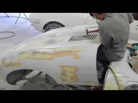 1966 Jaguar E-Type restoration DSCN0037