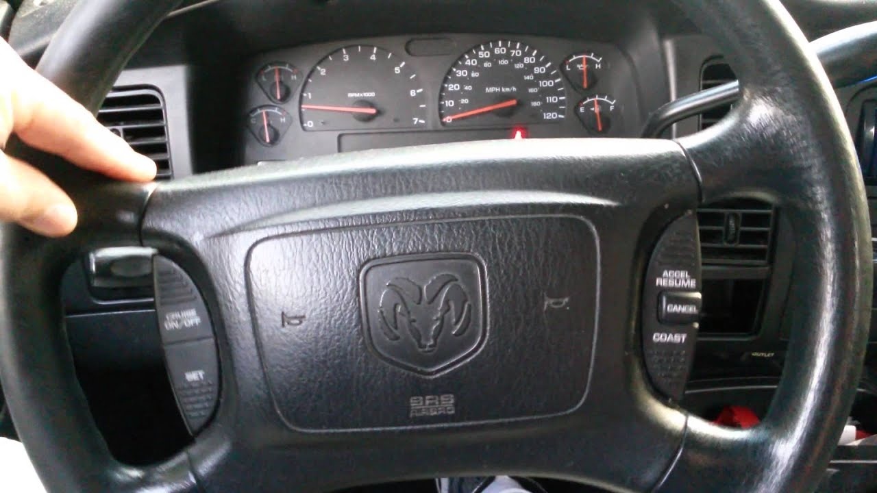 maxresdefault dodge dakota steering wheel slop youtube Dodge Durango Stereo Wiring Diagram at fashall.co