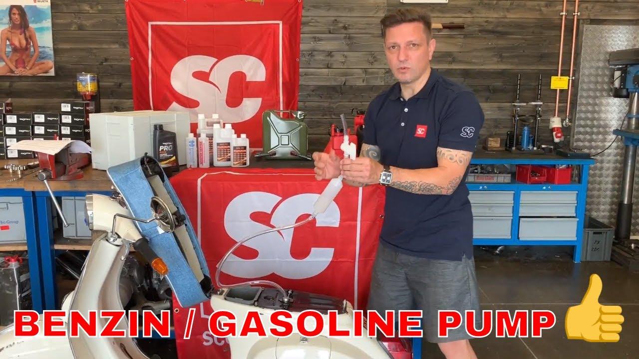 BGS Notpumpe Umfüllpumpe Pumpe Abpumpen umfüllen Handpumpe Absaugen Rauspumpen