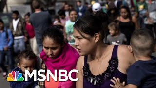 Thousands Of Migrant Children Separated From Parents Before Zero Tolerance | Andrea Mitchell | MSNBC thumbnail