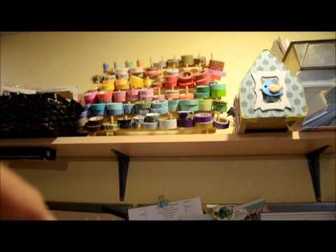 Craft room tour 2016 lots of cheap and diy storage ideas for Cheap craft room storage ideas