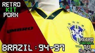 Brazil 1994-97 Home | Retro Football Kit Porn