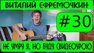 #30 Виталий Ефремочкин - Не умру я, но буду жить истиной Твоей (видеоурок)