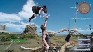 Final Fantasy XV Iris In Action
