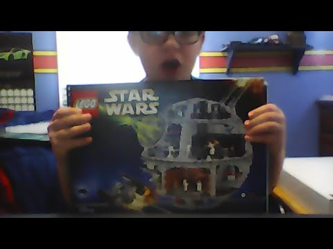 building lego death star part 1 (sorting pieces)