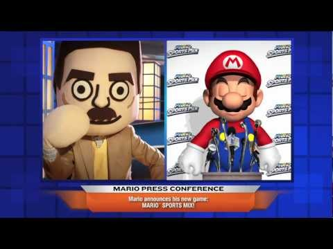 Mario Sports Mix Press Conference