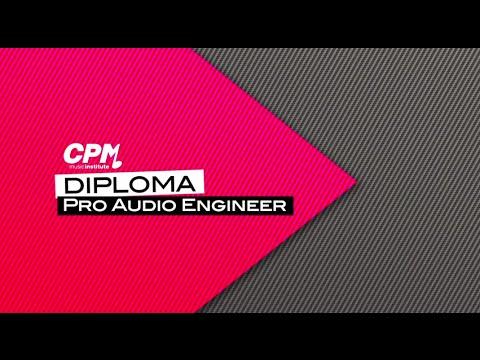 """Il Corso """"Pro Audio Engineer"""" del CPM"""
