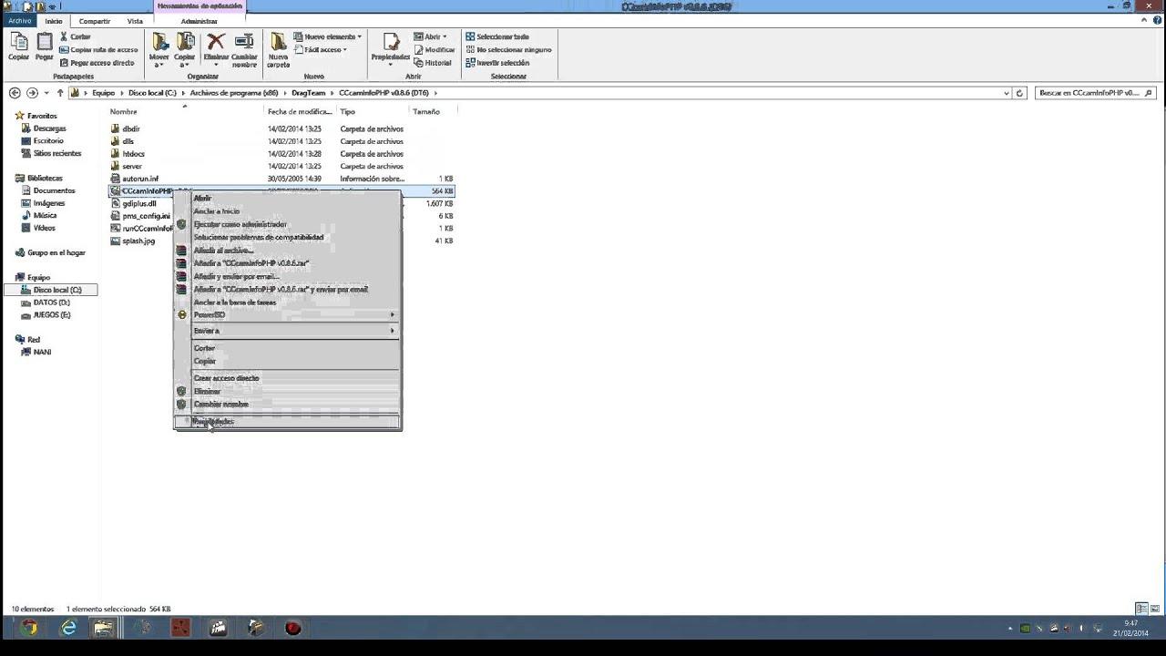 cccaminfophp v0.8.6 dt6