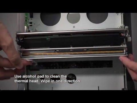 Cleaning Thermal Head Kodak Printer 8810