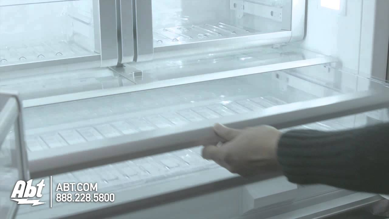 Thermador 36 Inch French Door Refrigerator   T36BT820NS Features   YouTube