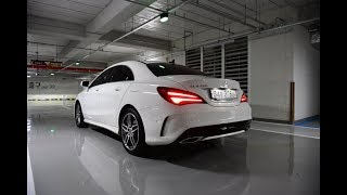 [주니TV] CLA220 AMG Line Test Drive + Acceleration 0-100km/h + Top Speed-FAST!!