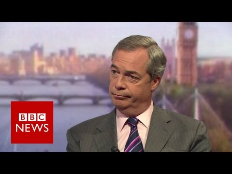 Farage: UKIP 'only party serious about reducing immigration' - BBC News