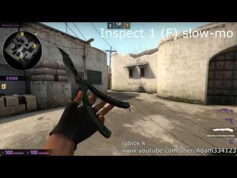 CS:GO - All Butterfly Knife Tricks IRL