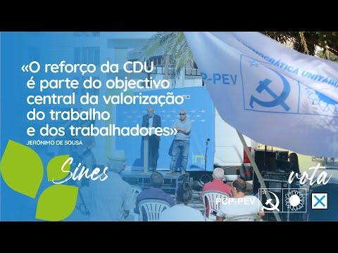 O reforço da CDU é parte do objectivo central da valorização do trabalho e dos trabalhadores