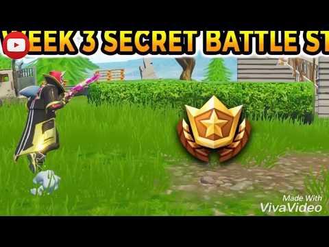 Fortnite Season 5 Week 3 Secret Battle Star